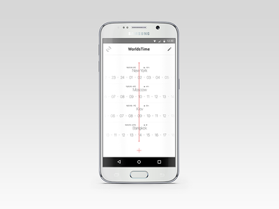 WorldsTime Android App