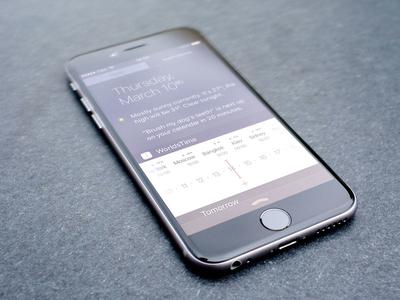 WorldsTime's app widget widget schedule world clock timezones app ui ux ios worldtime