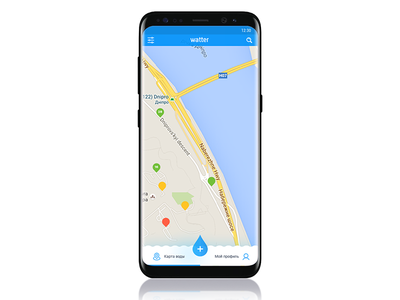 Watter app s8 solutions ui ux android ios app water eco watter