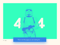 404 page - Daily UI 08