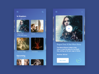 Simple cinema app