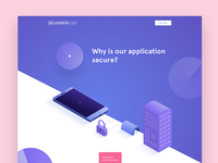 Landing page concept