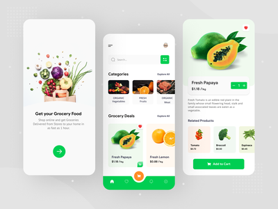 Grocery mobile app vegetable app grocery mobile app vegetables grocery online online grocery online store online shop grocery store grocery app grocery ecommerce android design android app android ux ui typography graphic design design app