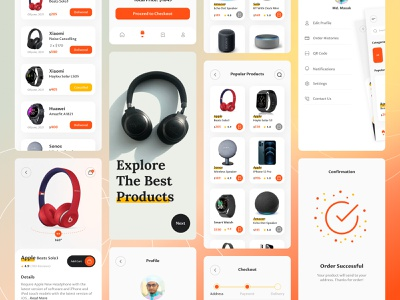 E commerce mobile app mobile phone mobiles speakers smart watches watches headphone e commerce shop online store e commerce store e commerce mobile app e commerce app design e commerce app e commerce android design android app android ui typography design app