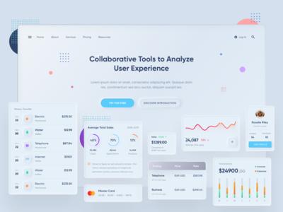 Collaboration Tool | Neomorphism