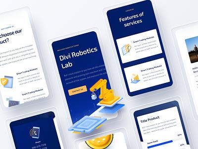Robotics |  Mobile Version robots robotics design illustration