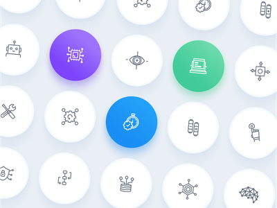 Icons branding isometric illustrations logo icon app vector icons ux web ui design illustration