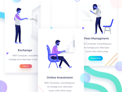 Payment ux ui app design web logo icons theme payment illustration