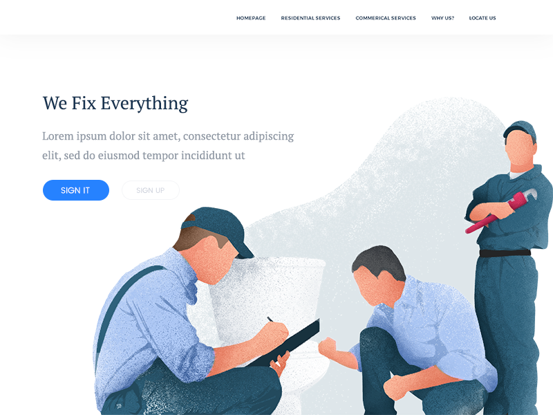 Plumbers sneak peak by zaib ali dribbble for Hashicorp careers