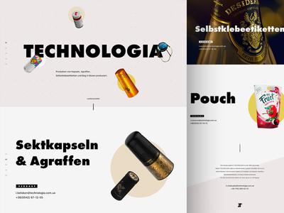 Technologia. Promo page.