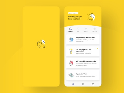 Life Booster app illustration ui animation typography clean app