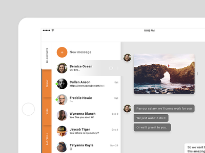 Chat module / UI Challenge — Week 06 ui chat application app