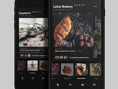 Restaurant List / UI Challenge — Week 11 challenge restaurant app food ui