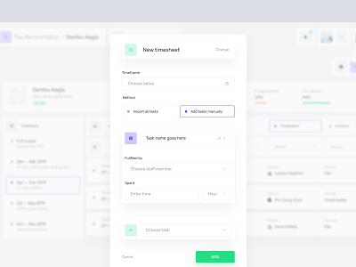 Desktop App — Forms modal forms form minimal ux design ui dashboard app desktop