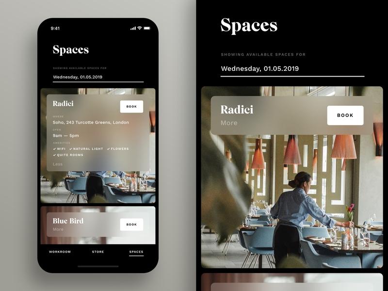 Workroom —Spaces