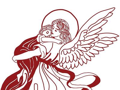 GEEK GOD LINE ART penart lineart linework design illustrator graphicdesign