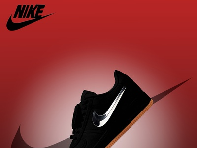 nike shoe poster design designideas branding photoshop graphicdesign