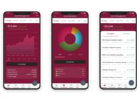 Financial App UI/UX