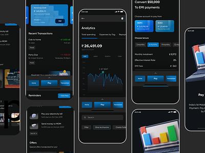 Finance app : Maintain your balance illustration app design ui  ux uiuxdesign uidesign ui ui design appdesign uiux
