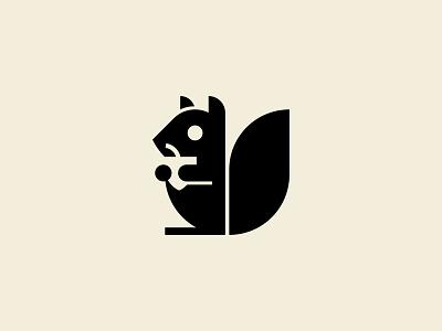 Squirrel squirrel icon illustration mark branding logo