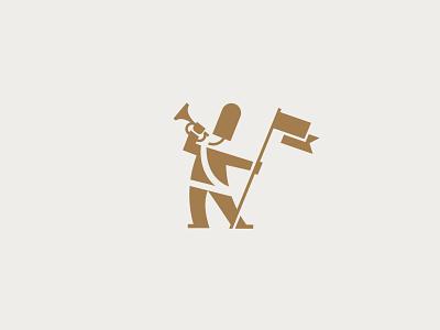 Royal Trumpeter flag trumpeter trumpet guard royal illustration mark