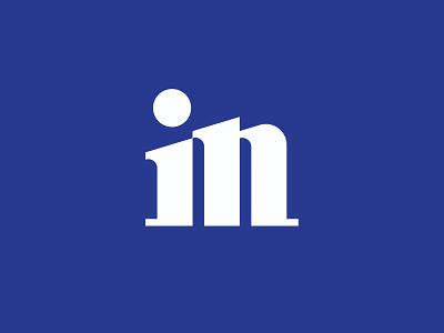 in monogram n i icon monogram letter branding mark logo