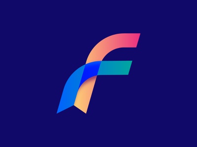 Forma accounting brand monogram mark branding logo letter forma f