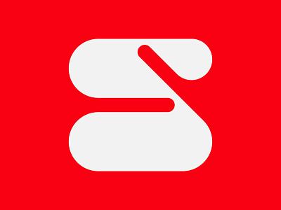 Letter S s monogram letter mark branding logo