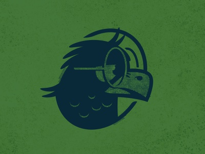 Eagleeye vector bored glasses eagle illustration