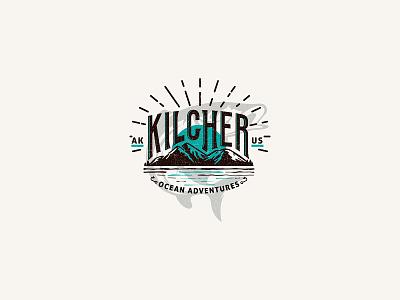 Kilcher ocean adventures alaska branding logo