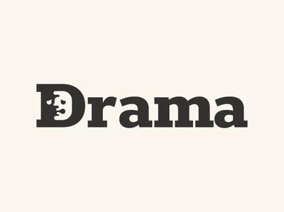 Drama mask face theater drama