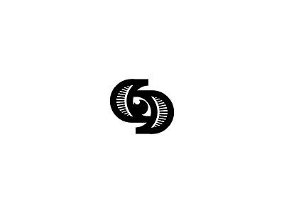 S for sentinel sentinel s eye brand monogram letter mark branding logo