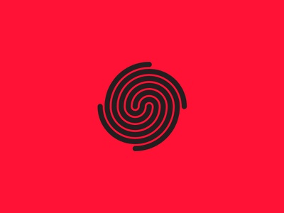 Spiral galaxy mark spiral galaxy space icon brand illustration mark branding logo