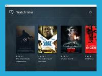 Media movie list