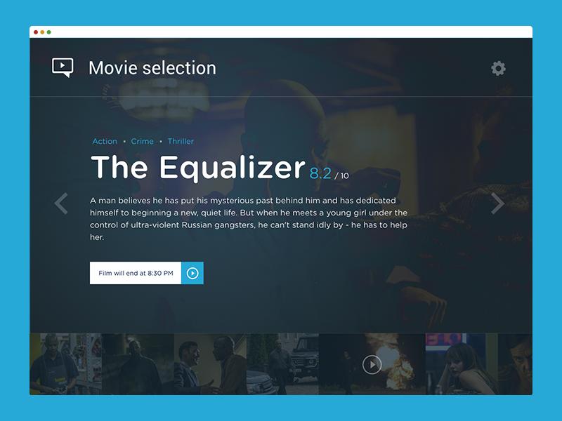 Media player (WIP) movie player ui ux video app desktop application media gallery sketch