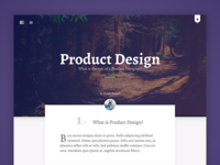 Blog article design product design nature clean page ux ui layout article blog