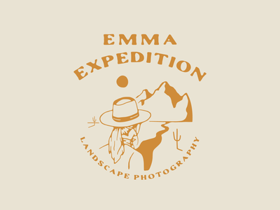 Emma Expedition Brand Identity and Design southwest design boho branding modern logo logo adventure brand branding agency brand design brand identity illustration branding