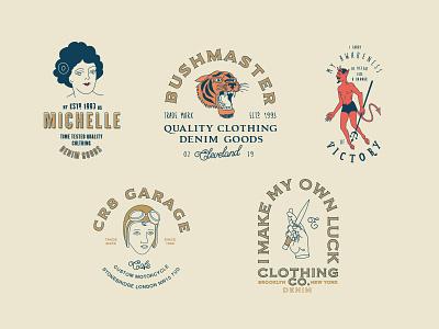 Hipster Logo Templates logos cool old editable tiger vintage hipster tattoo templates logo