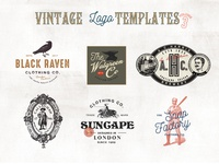 32 Vintage Logo Templates (Vol.3)