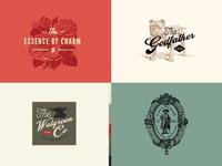 Vintage Logo Templates (vol. 3)