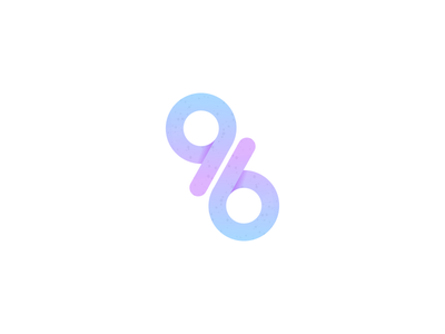 96 gradient numbers 6 9