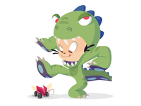 Dinoctocat