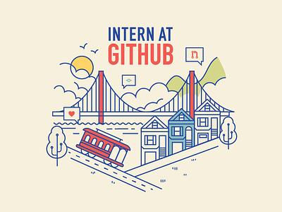 Intern Recruitment 2018 golden gate bridge san francisco bay trolley sf intern github