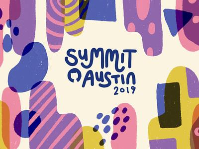 GitHub Summit 2019 Exploration 1 ocotcat texture conference summit pattern branding github