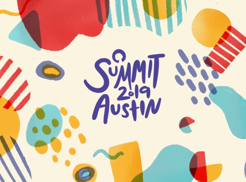GitHub Summit 2019 Exploration 3 octocat pattern summit branding github