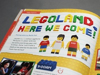 Legoland magazine layout