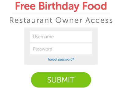 Alpha Login login username password text input button museo typekit submit admin