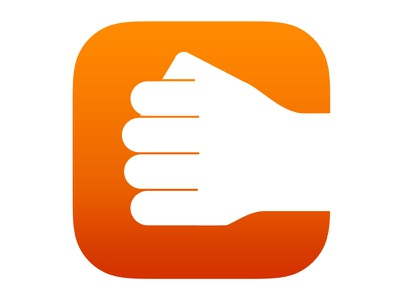 Punch ios7 icon fist punch