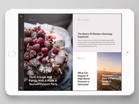 Articolo Ipad app | browse