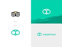 Tripadvisor Logo Redesign